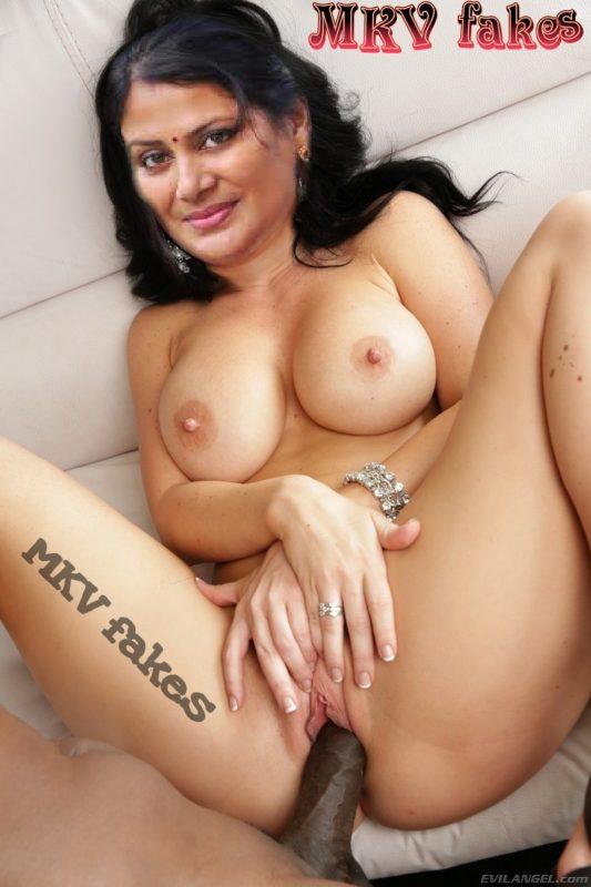 Madhavi black cock sex