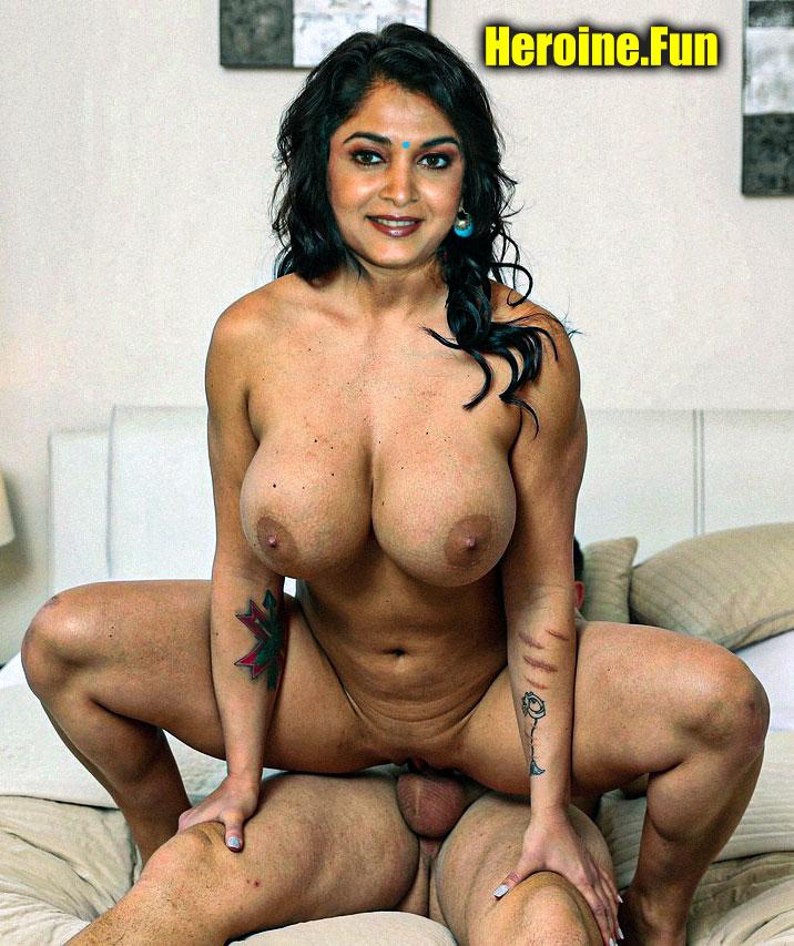 Ramya Krishnan naked mom fucking pussy milf actress big boobs
