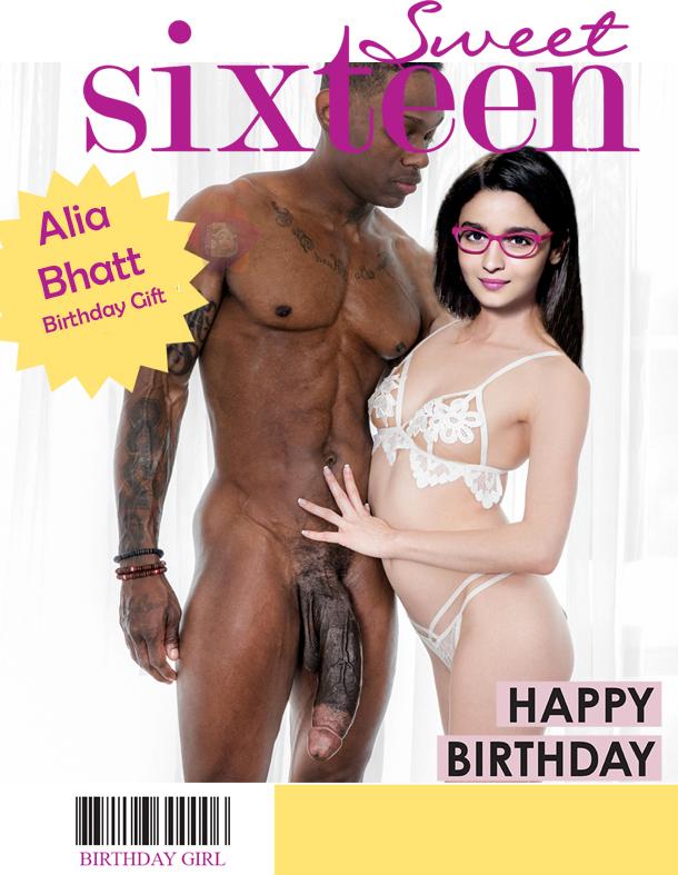 Alia Bhatt nude hairy pussy