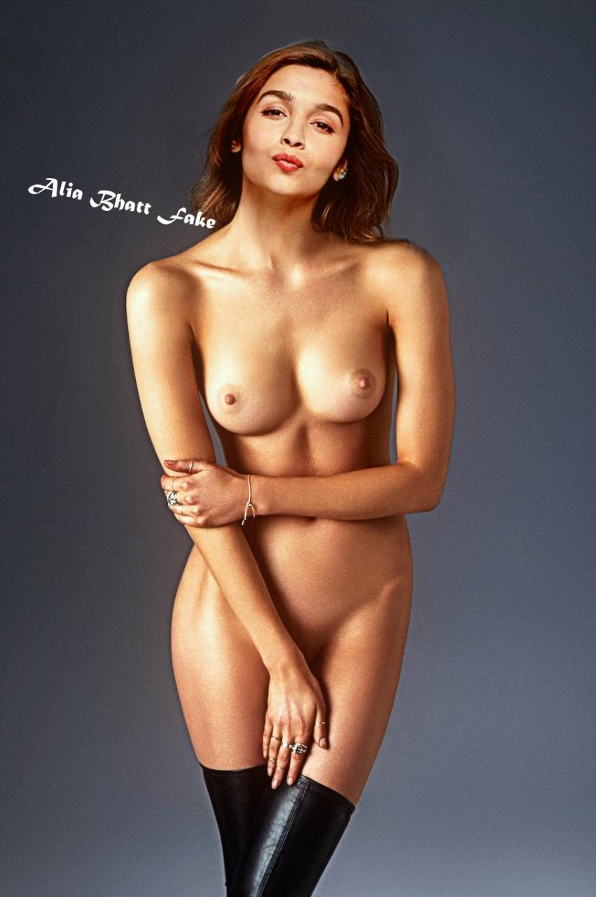 Alia Bhatt real boobs photos