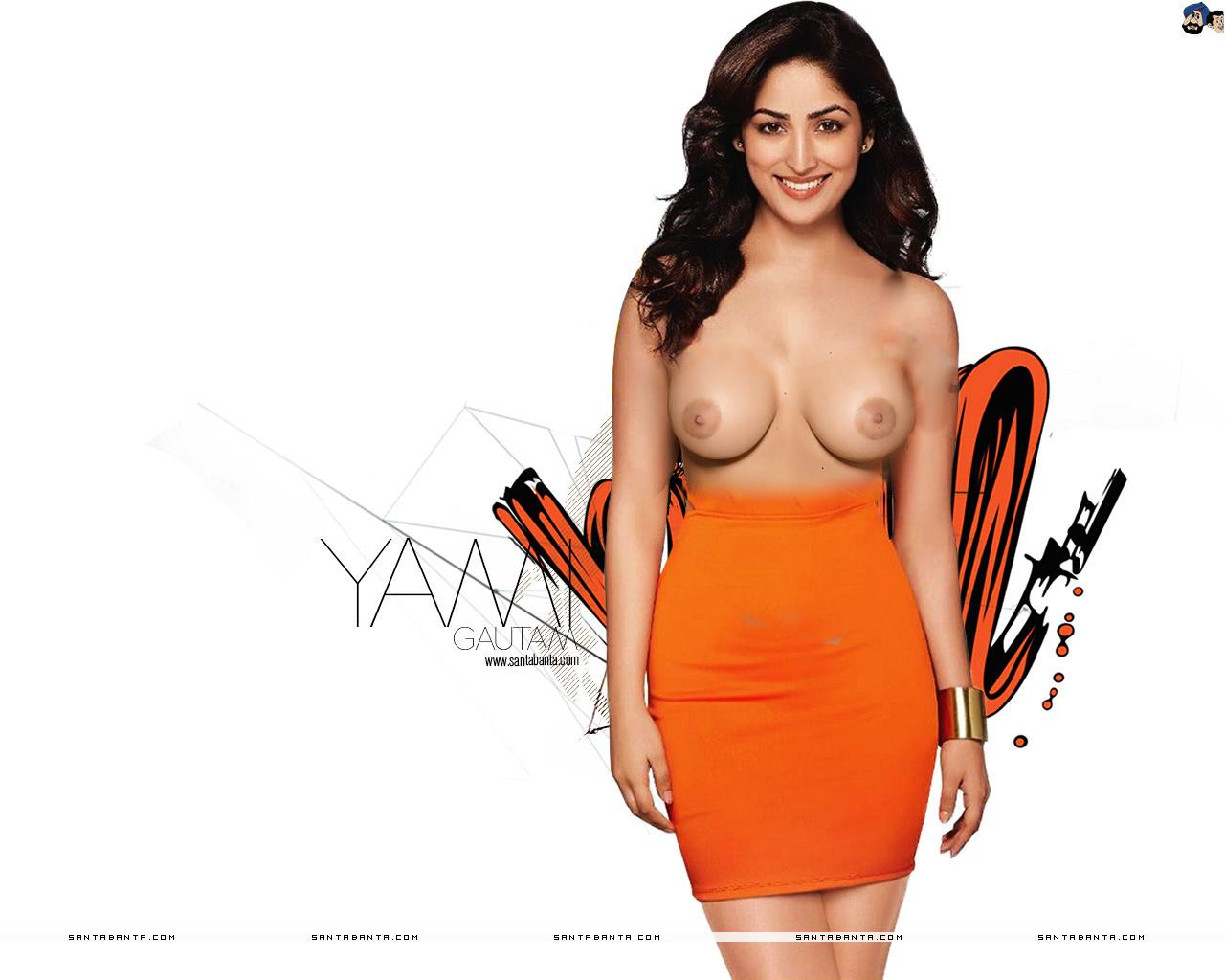 Ginita Sunaina fake breasts