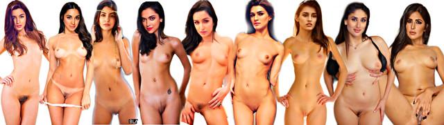 Kiara Advani Nude and with Saree