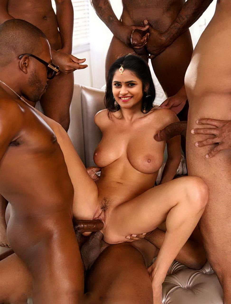 sakshi sivanand Nude Shows Ass Fucked By Cock in Ass Sex